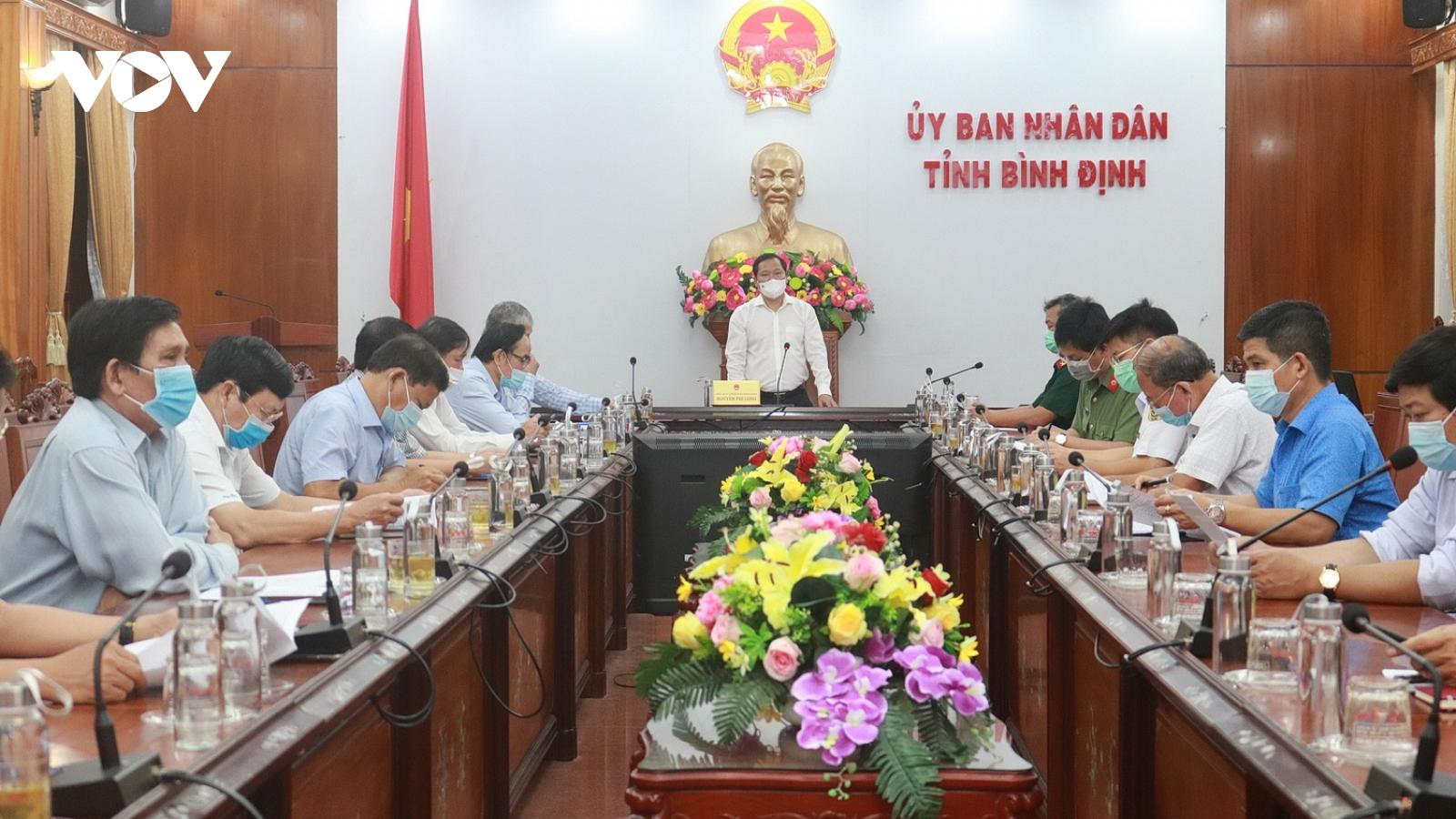 16 trường hợp F1 ở Bình Định đều âm tính
