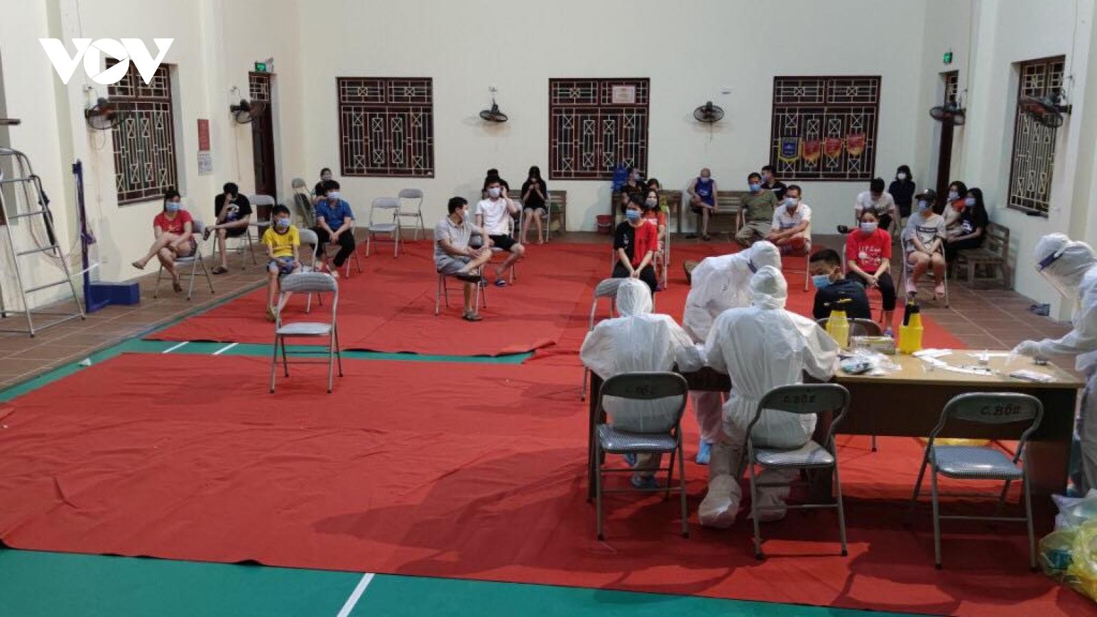 Thuận Thành, Bắc Ninh ghi nhận thêm 10 ca dương tính với SARS-CoV-2