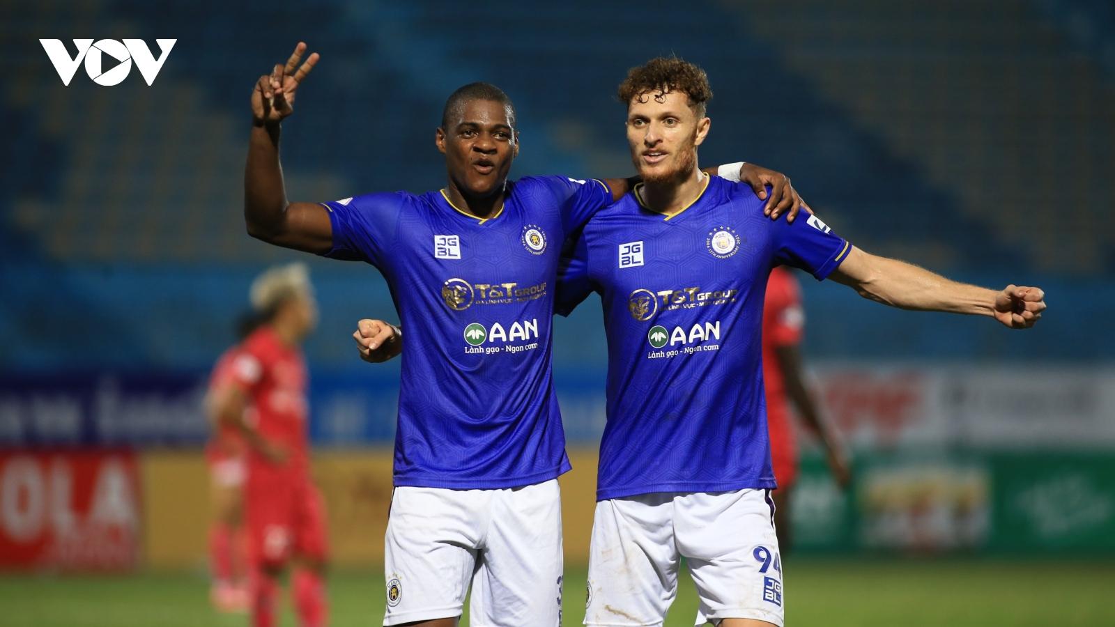 Bảng xếp hạng V-League 2021 mới nhất: HAGL sảy chân, Hà Nội FC áp sát top 6