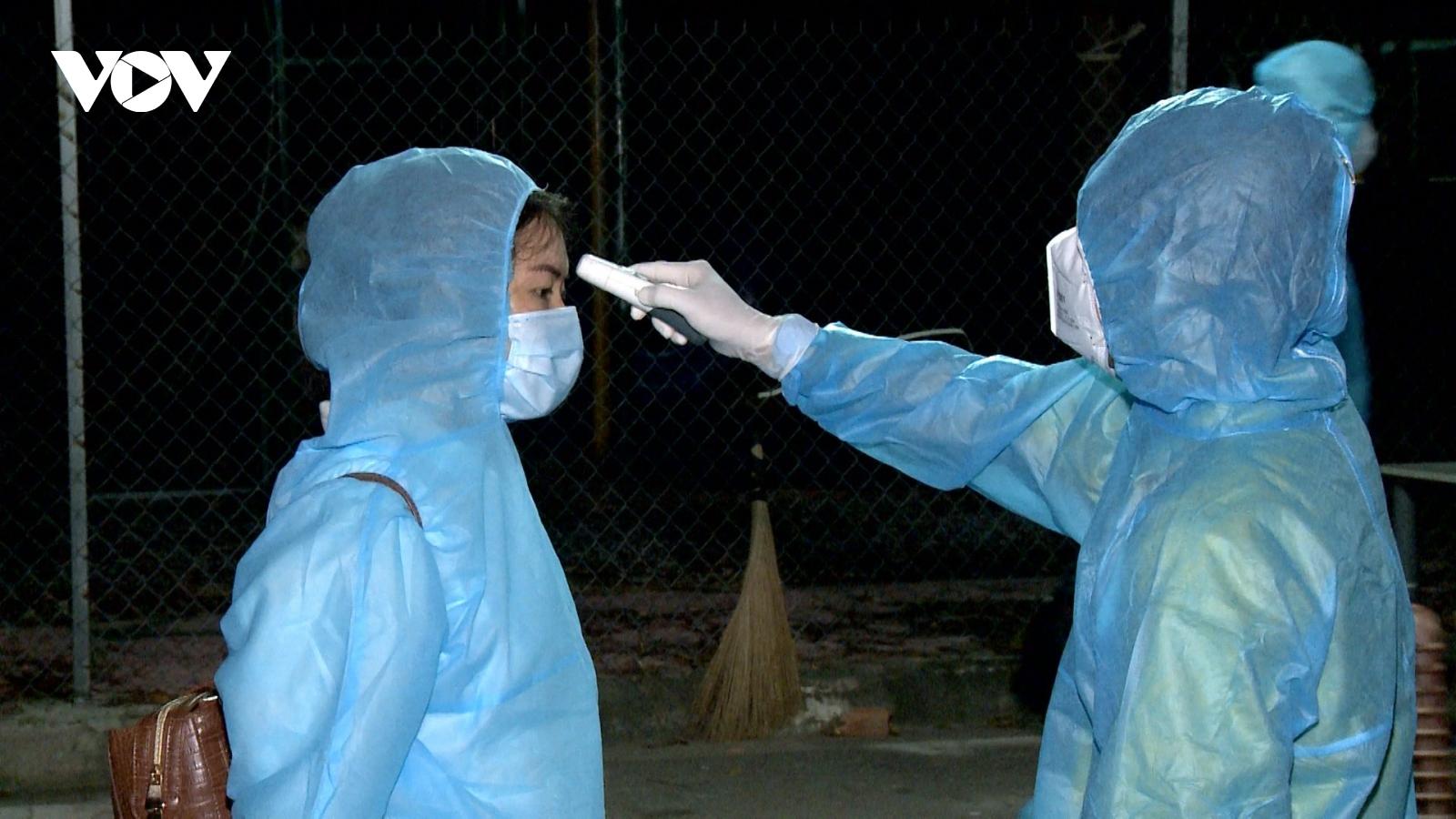 Bà Rịa-Vũng Tàu truy vết người liên quan đến 12 trường hợp về từ Đà Nẵng