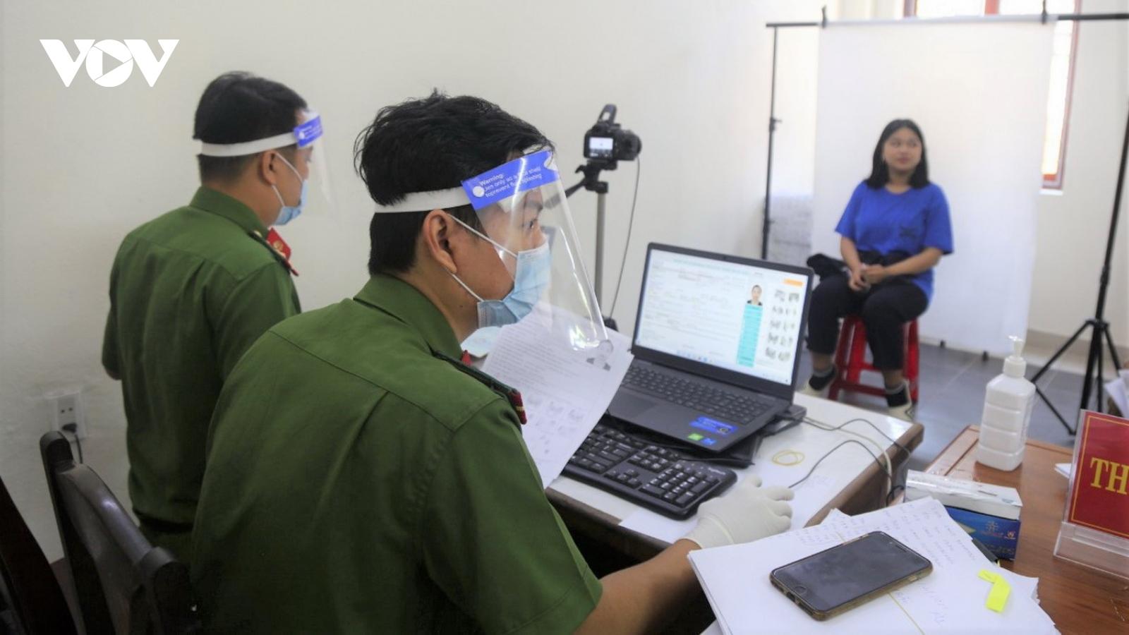 Đà Nẵng triển khai làm căn cước công dân trở lại