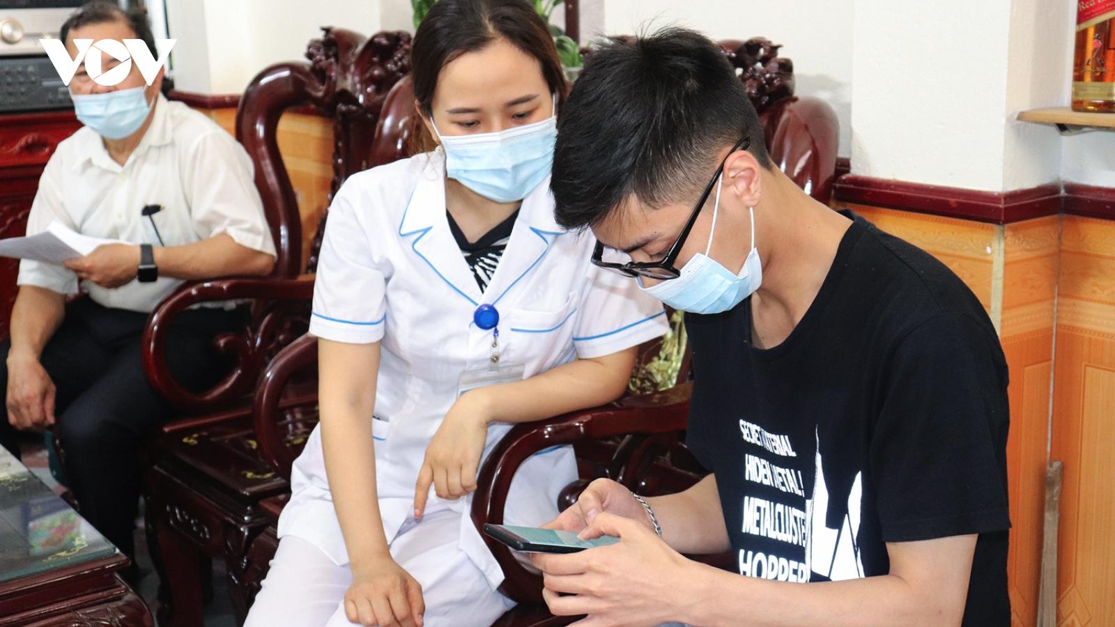 Quảng Ninh thực hiện khai báo y tế toàn dân lần thứ 4