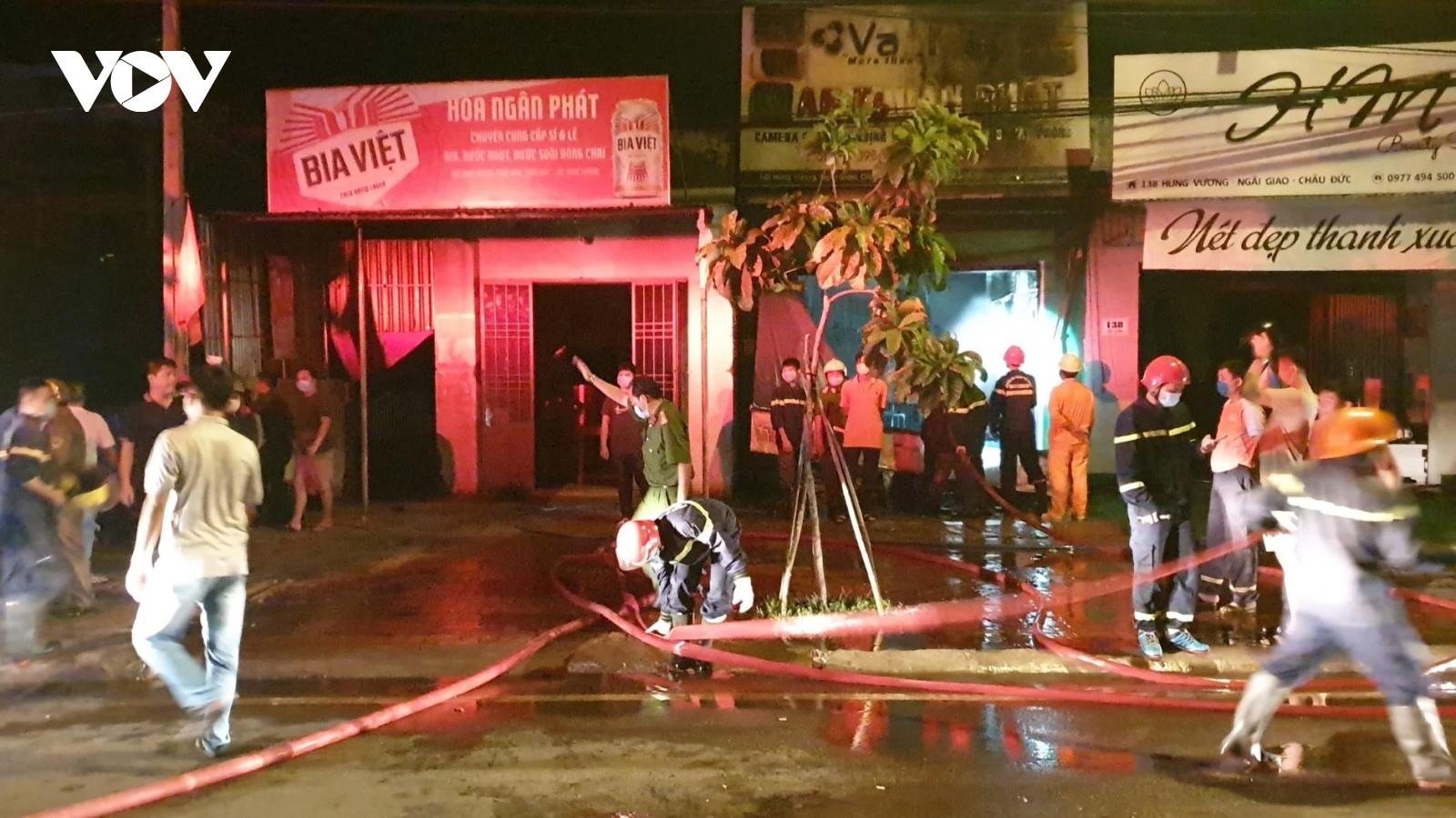 Cháy cửa hàng camera thiệt hại hơn 300 triệu đồng