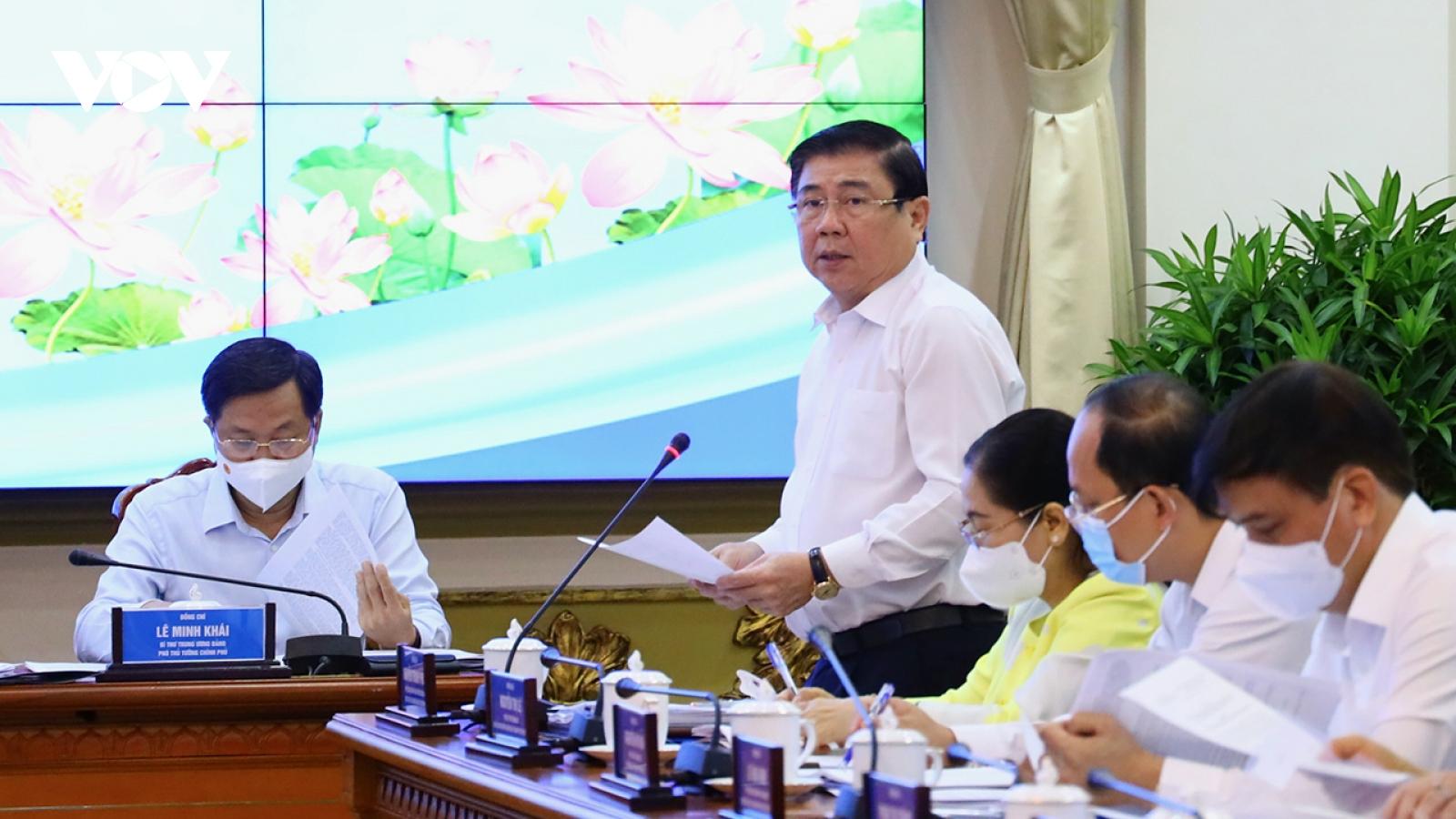 TPHCM mong Chính phủ gỡ khó trong quá trình thực hiện Nghị quyết 54