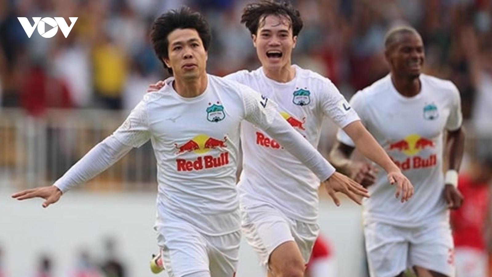 Công Phượng, Văn Toàn bị treo giò ở vòng 13 V-League