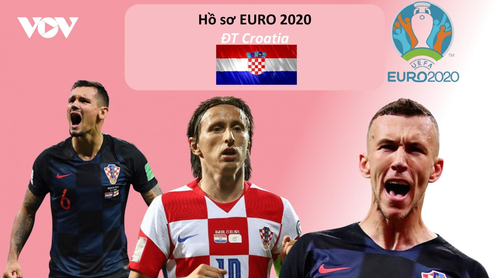 Hồ sơ các ĐT dự EURO 2020: Đội tuyển Croatia
