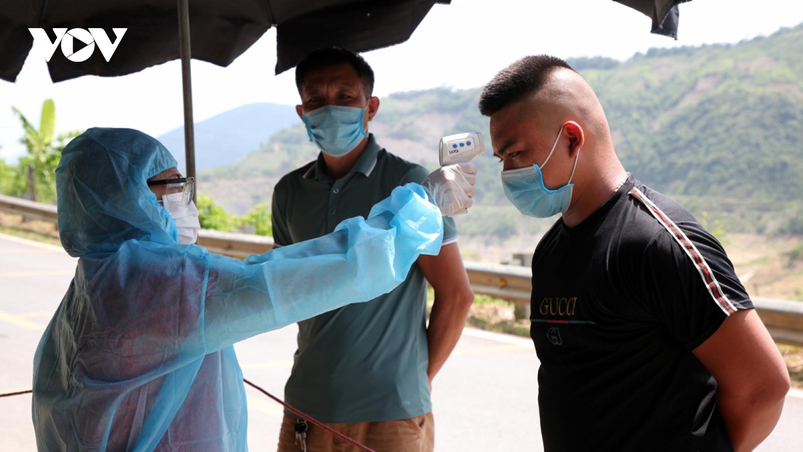 Lai Châu quản lý chặt người từ vùng dịch về địa bàn