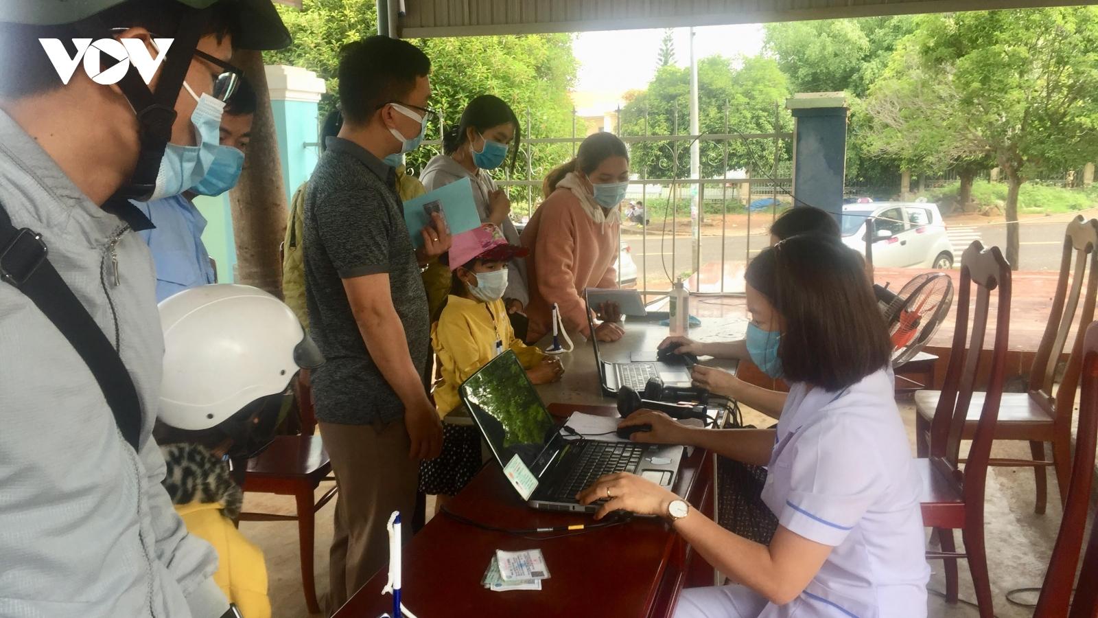 4 người ở Đắk Nôngtiếp xúc với BN 3141 cho kết quả âm tính lần 1 SARS-CoV-2