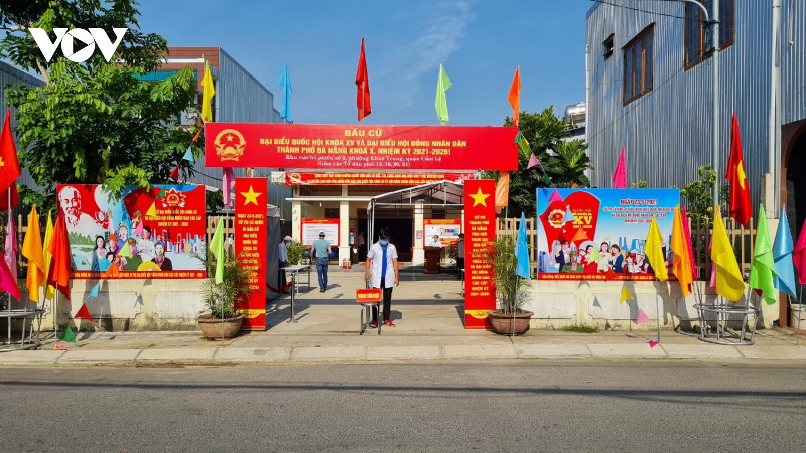Đà Nẵng quyết tâm giữ an ninh trật tự và an toàn dịch bệnh cho ngày bầu cử