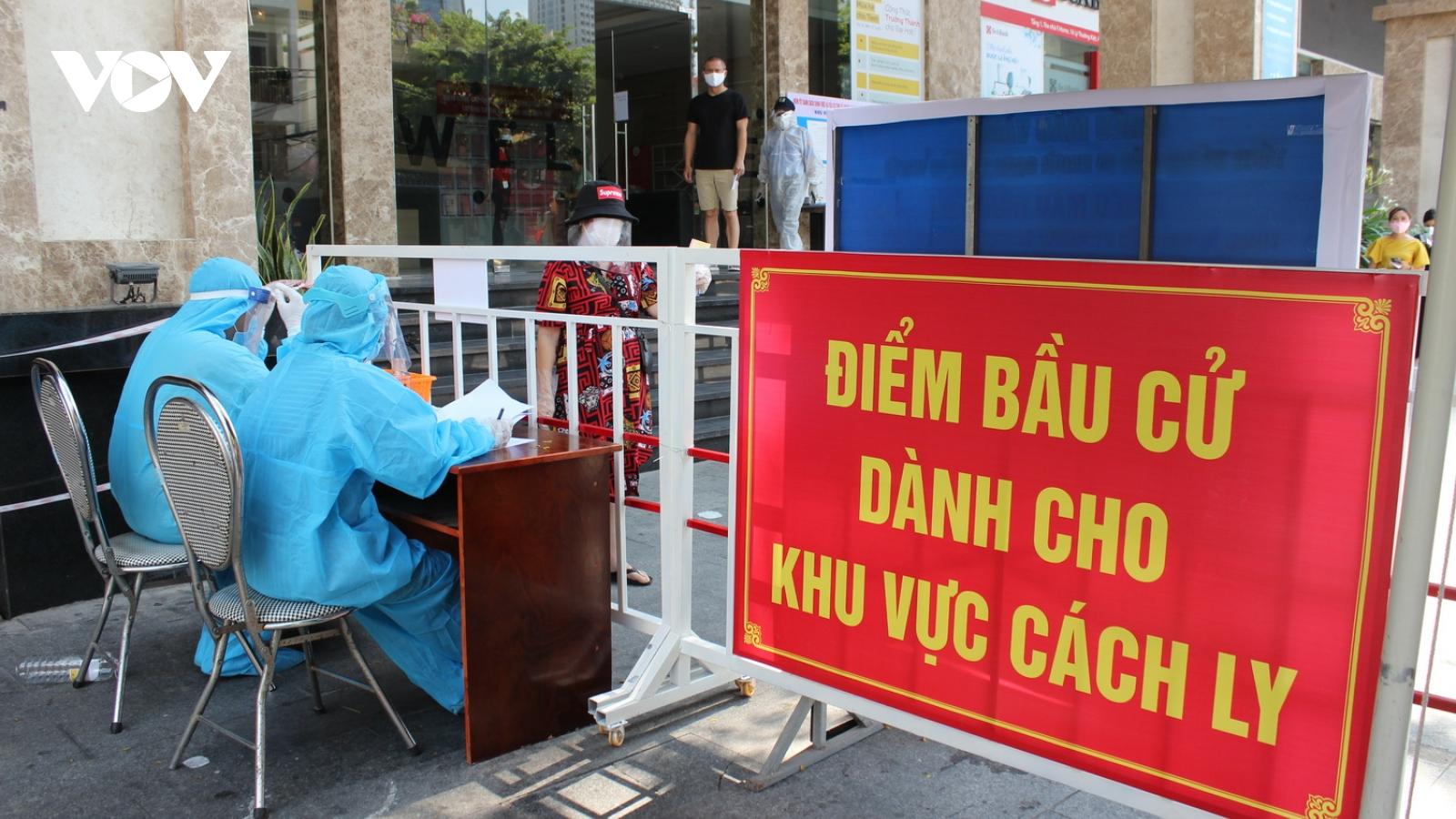 Ngày bầu cử đặc biệt trong các khu cách ly ở Đà Nẵng