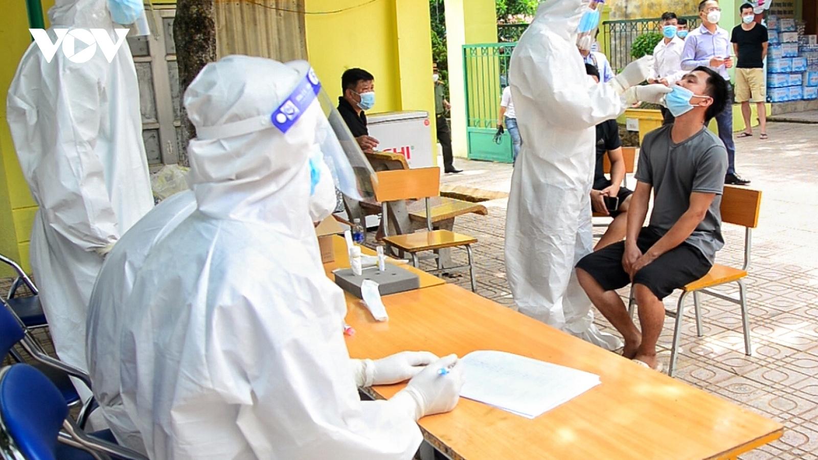 Điện Biên ghi nhận thêm 1ca mắc COVID-19 trong khu cách ly ở Si Pa Phìn