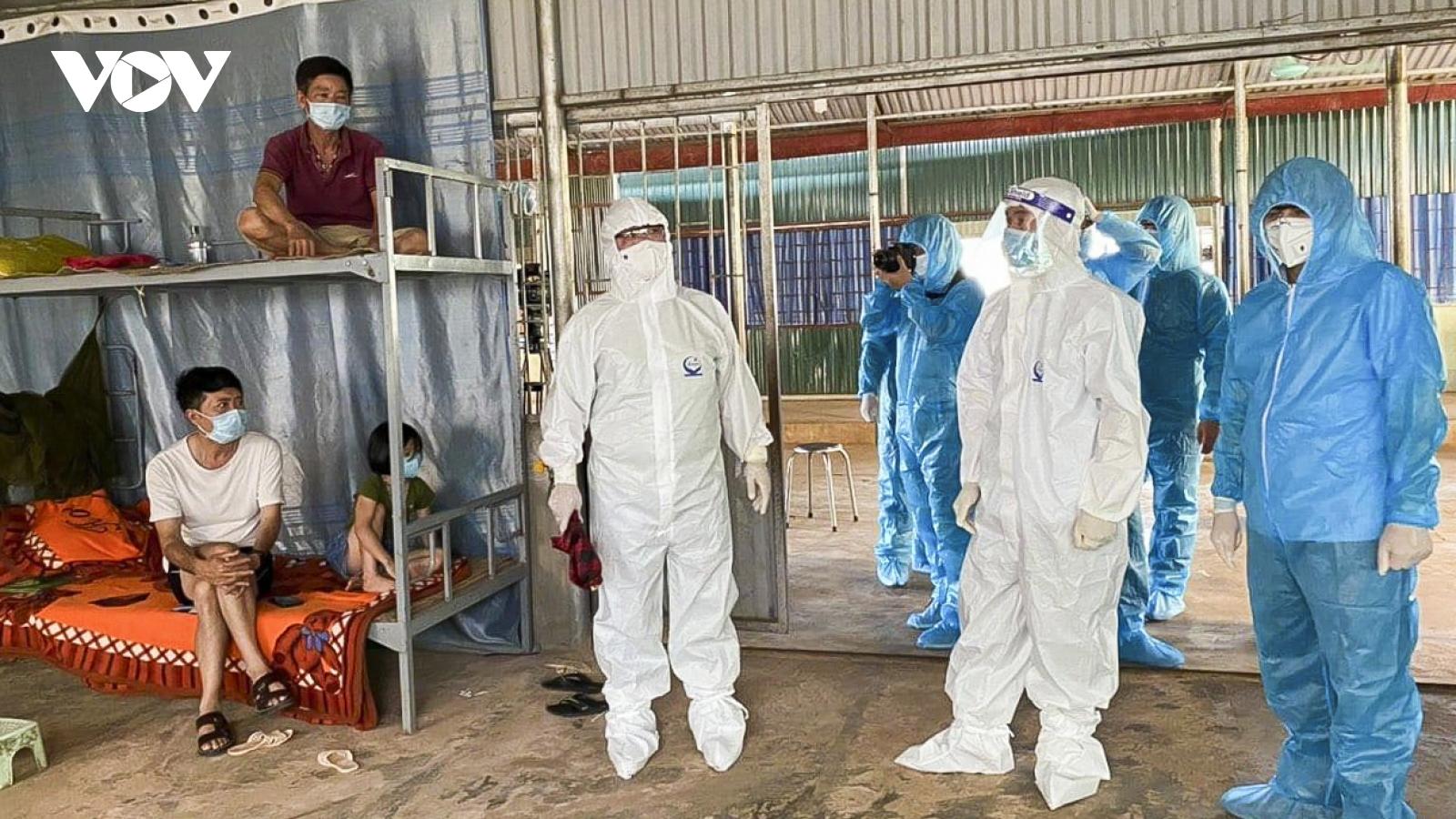 Thêm bệnh nhân COVID-19 tại Si Pa Phìn, Nậm Pồ thành lập thêm 3 khu cách ly tập trung