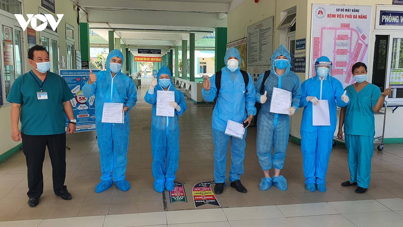 Đà Nẵng công bố 4 bệnh nhân hết Covid-19 ra viện