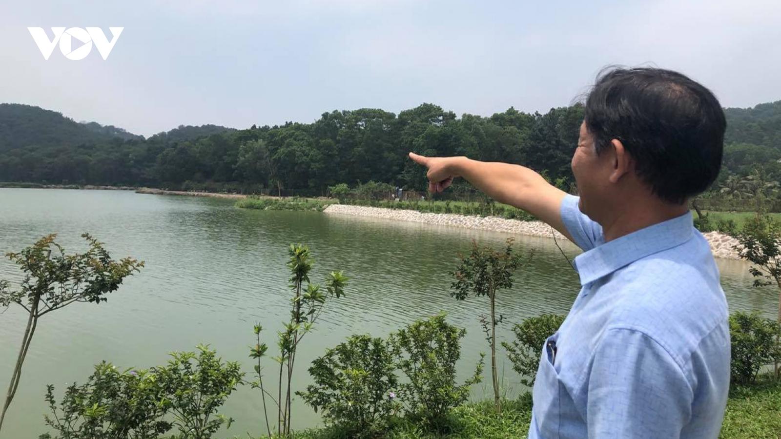 Vướng mắc quyền sử dụng đất, người dân hồ Đồng Chầm khó phát triển kinh tế, thương mại