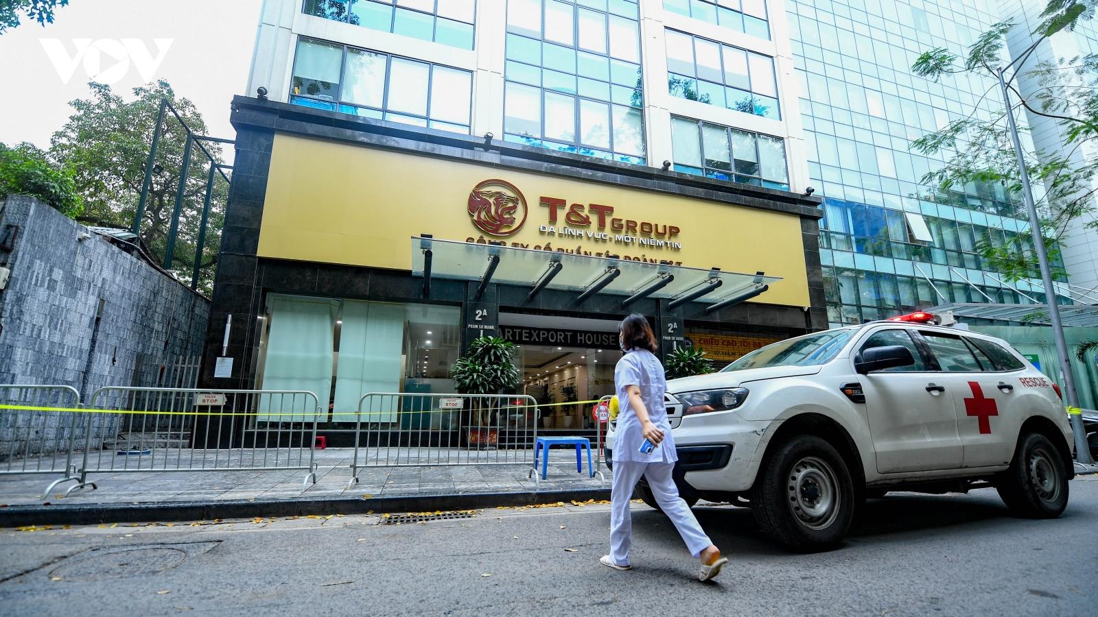 Hà Nội phát hiện thêm 8 ca dương tính liên quan chùm Times City và T&T