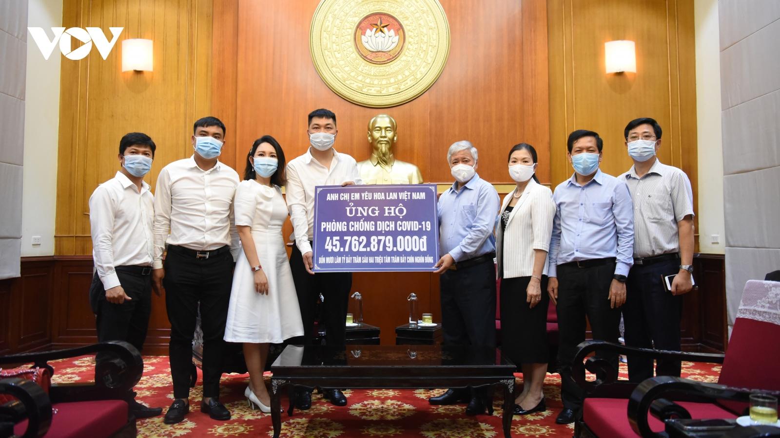 Tiếp nhận 45 tỷ ủng hộ, Mặt trận Tổ quốc Việt Nam sẽ ưu tiên mua vaccine
