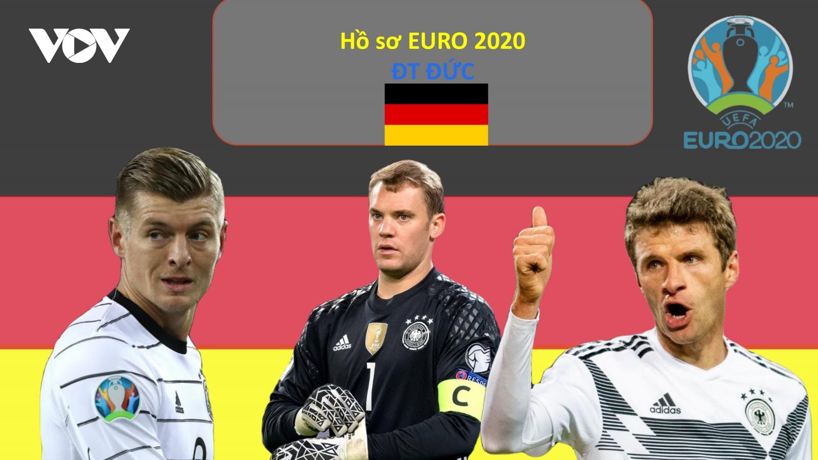 Hồ sơ các ĐT dự EURO 2020: Đội tuyển Đức