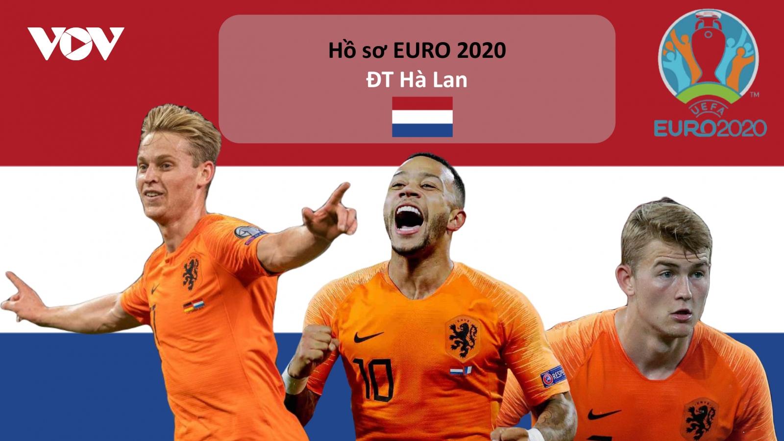 Hồ sơ các ĐT dự EURO 2020: Đội tuyển Hà Lan