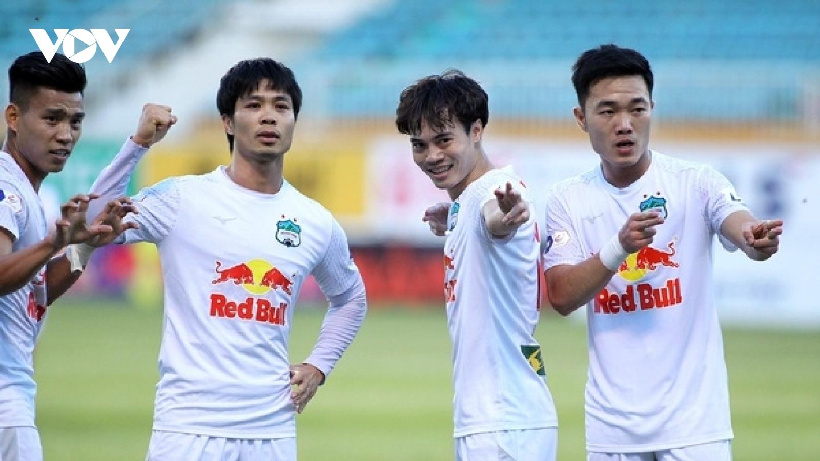 Vòng 12 V-League 2021: HAGL hòa thất vọng, Hà Nội FC và Viettel ca khúc khải hoàn