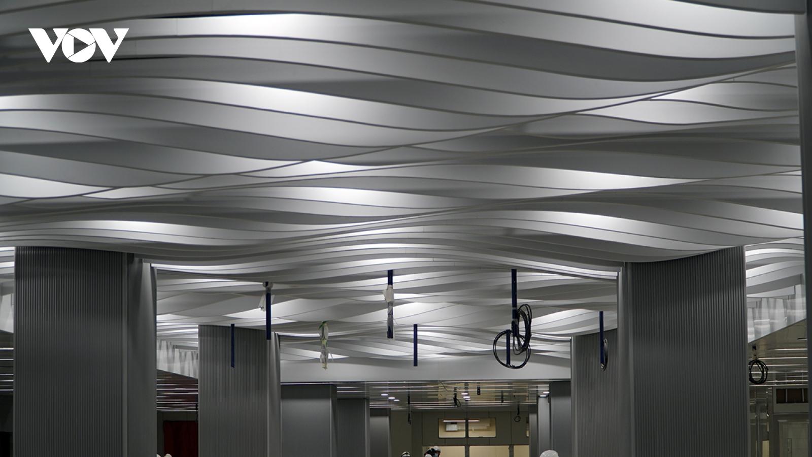 Hoàn thành tầng B1 ga Ba Son của tuyến metro số 1 tại TP HCM