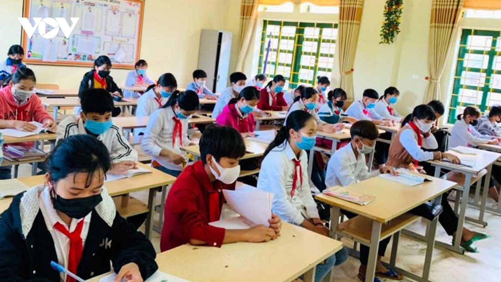 Hơn 17.500 học sinh tỉnh Lai Châu tiếp tục nghỉ học để phòng dịch