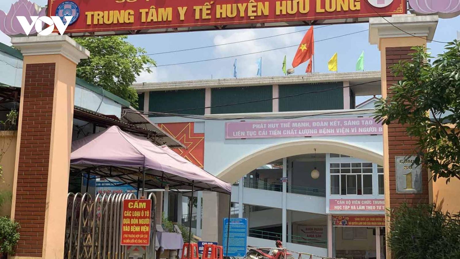 Lên phương án xây dựng khu cách ly tập trung thứ 4 ởhuyện Hữu Lũng, Lạng Sơn