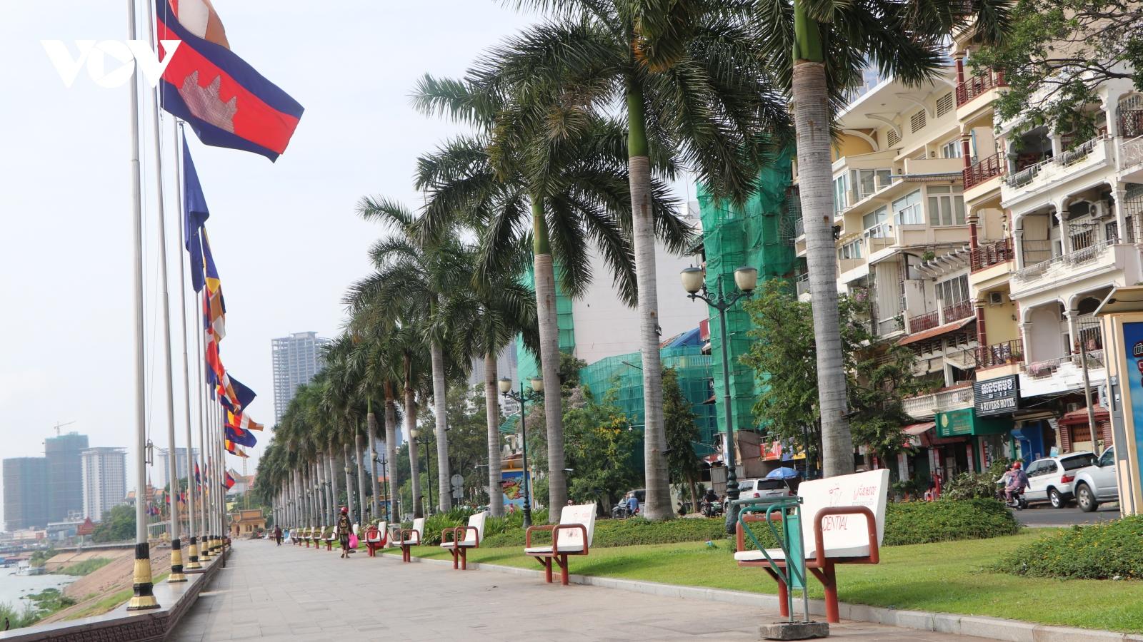 Covid-19 đẩy ngành du lịch Campuchia tiếp tục sụt giảm