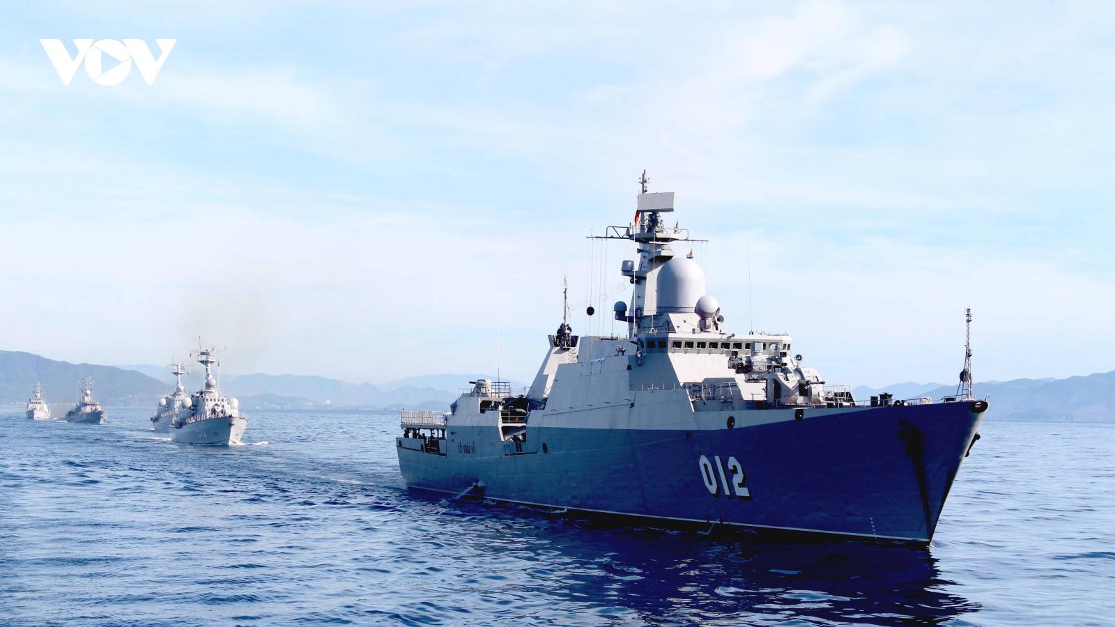 """""""Lá chắn thép"""" bảo vệ chủ quyền biển đảo của Tổ quốc"""