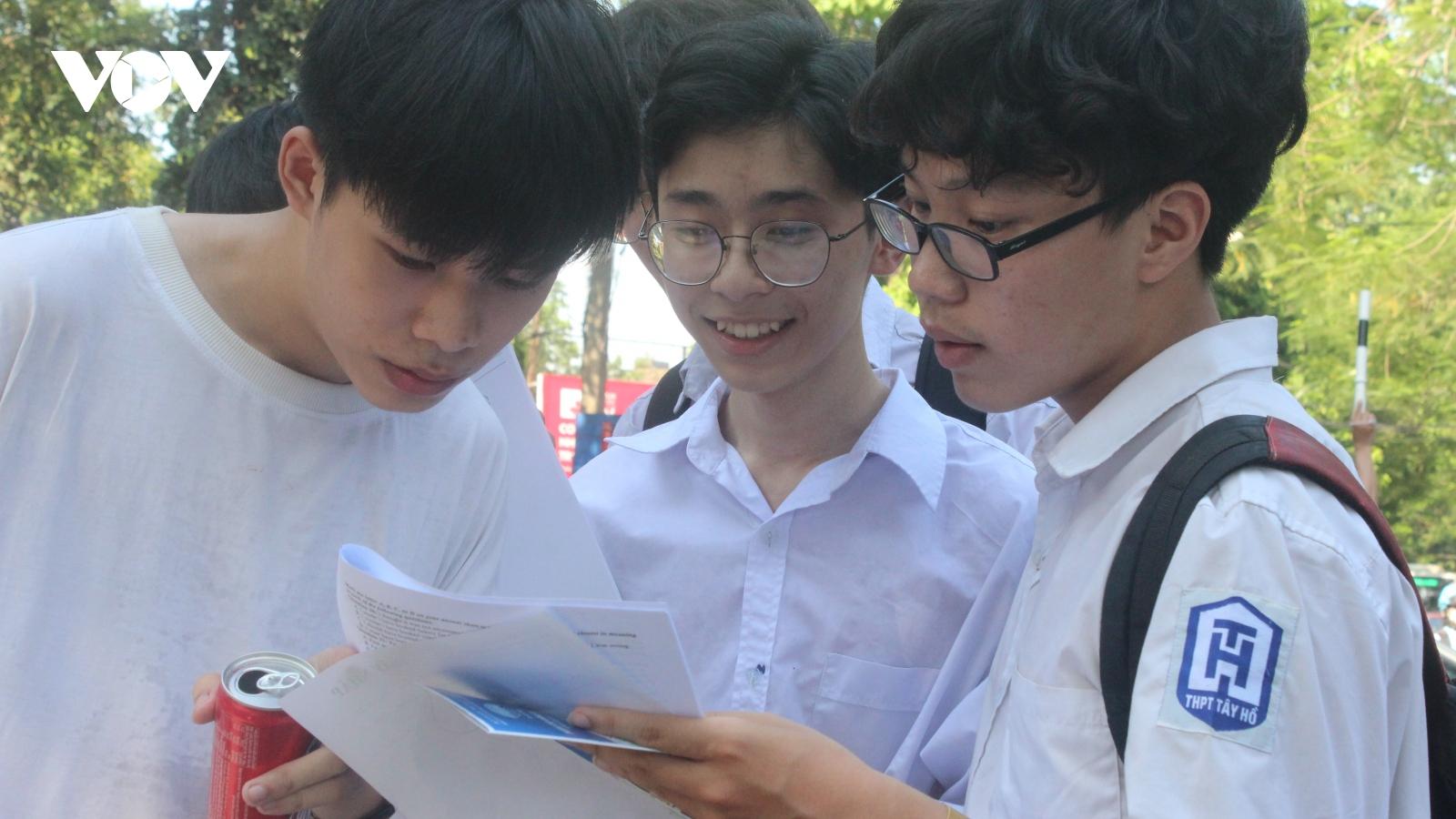 Hà Nội yêu cầu có hướng dẫn cụ thể với học sinh là F0, F1, F2 chuẩn bị thi vào lớp 10
