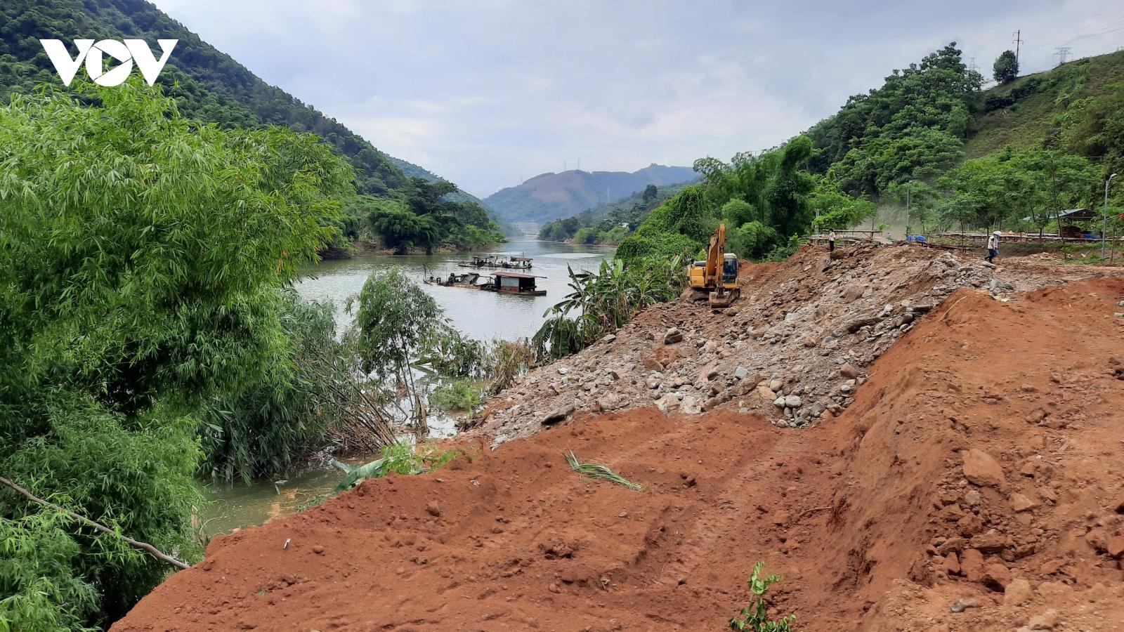 Lào Cai khẩn trương hỗ trợ 170 hộ dân trong vùng lòng hồ thủy điện Phúc Long
