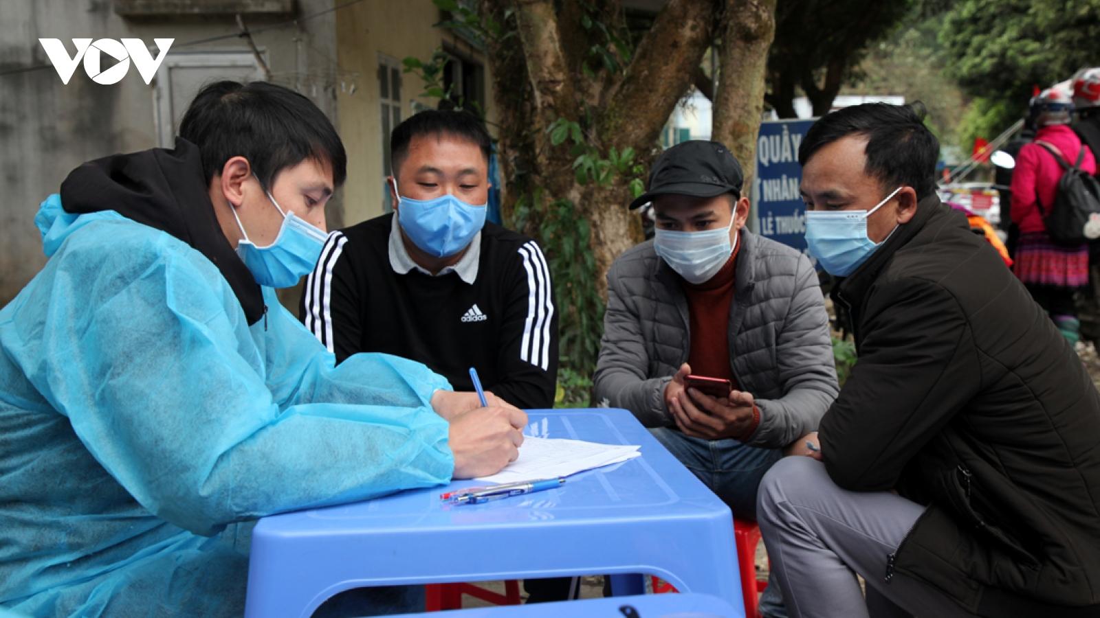 5 người ở Lai Châu liên quan đến BV BệnhNhiệt đới Trung ương có kết quảâm tính