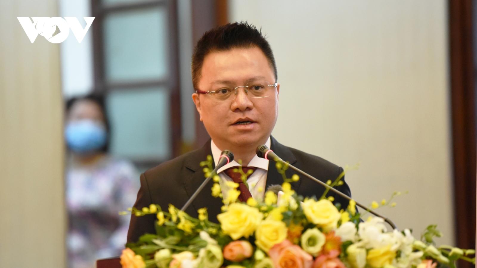 Ông Lê Quốc Minh được bổ nhiệm làm Tổng Biên tập báo Nhân Dân