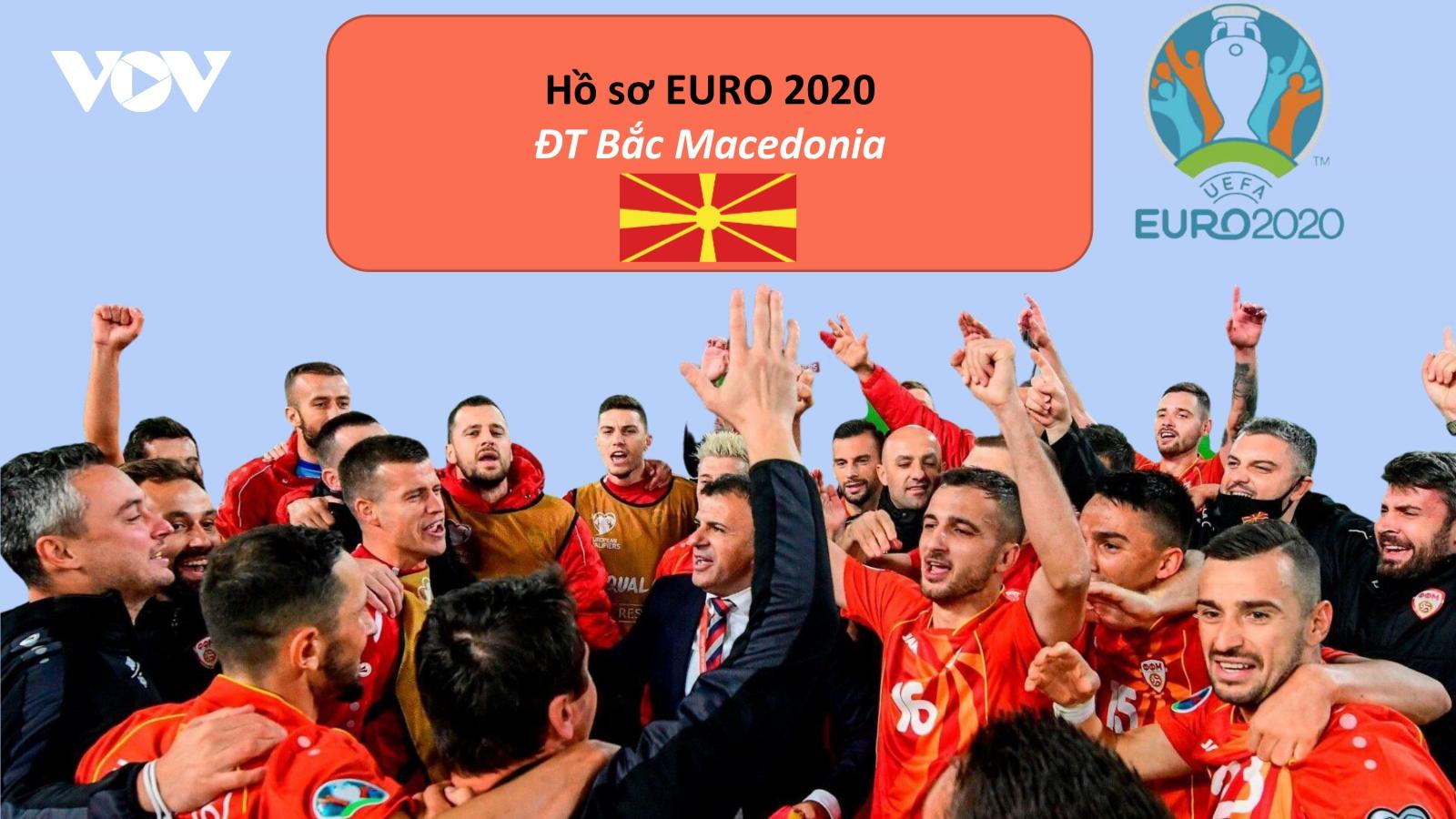 Hồ sơ các ĐT dự EURO 2020: Đội tuyển Bắc Macedonia