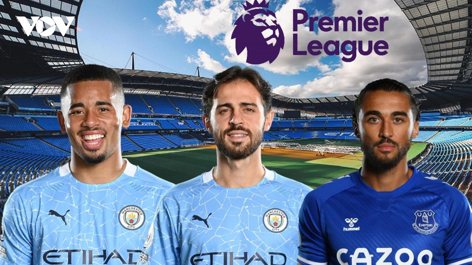 Dự đoán kết quả, đội hình xuất phát trận Man City - Everton