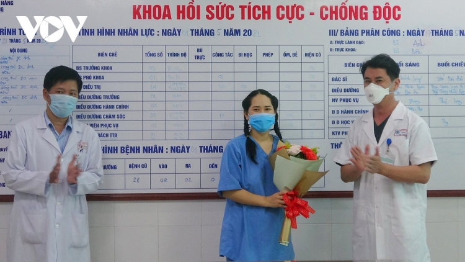 Nữ điều dưỡng ở Đà Nẵng phản vệ sau tiêm vaccine đã khỏe mạnh ra viện