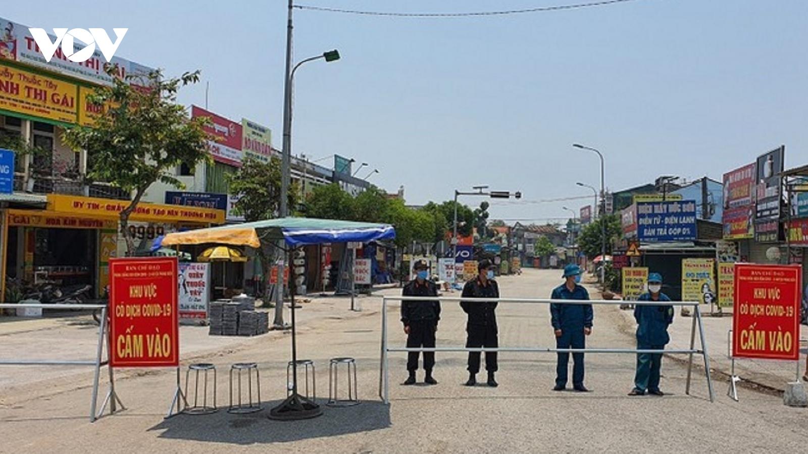 Thừa Thiên Huếgỡ phong tỏa huyện Phong Điền và thị trấn Lăng Cô
