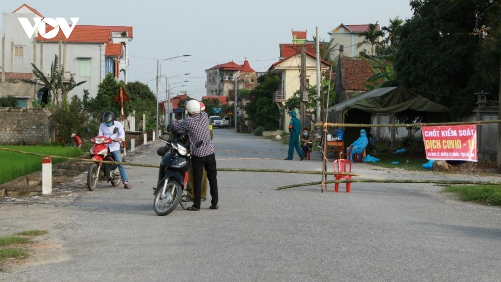 Ngày 2/5, Hà Nam truy vết được thêm 700 trường hợp F1, F2