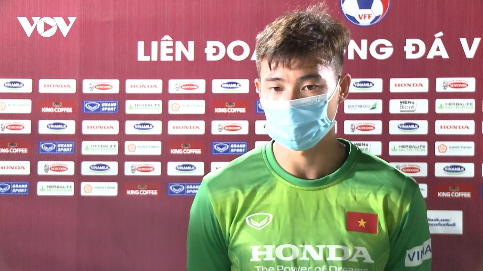 """""""Người nhện"""" của Phú Thọ quyết tâm ghi điểm với HLV Park Hang Seo"""