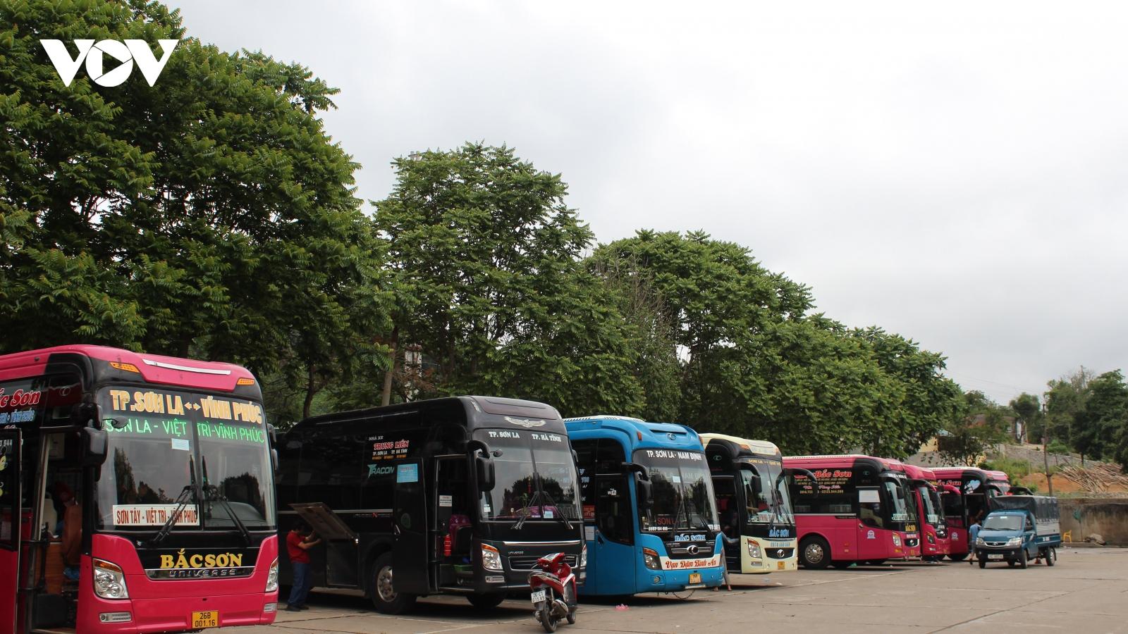 Sơn La tạm dừng hoạt động vận tải hành khách đi Hà Nội