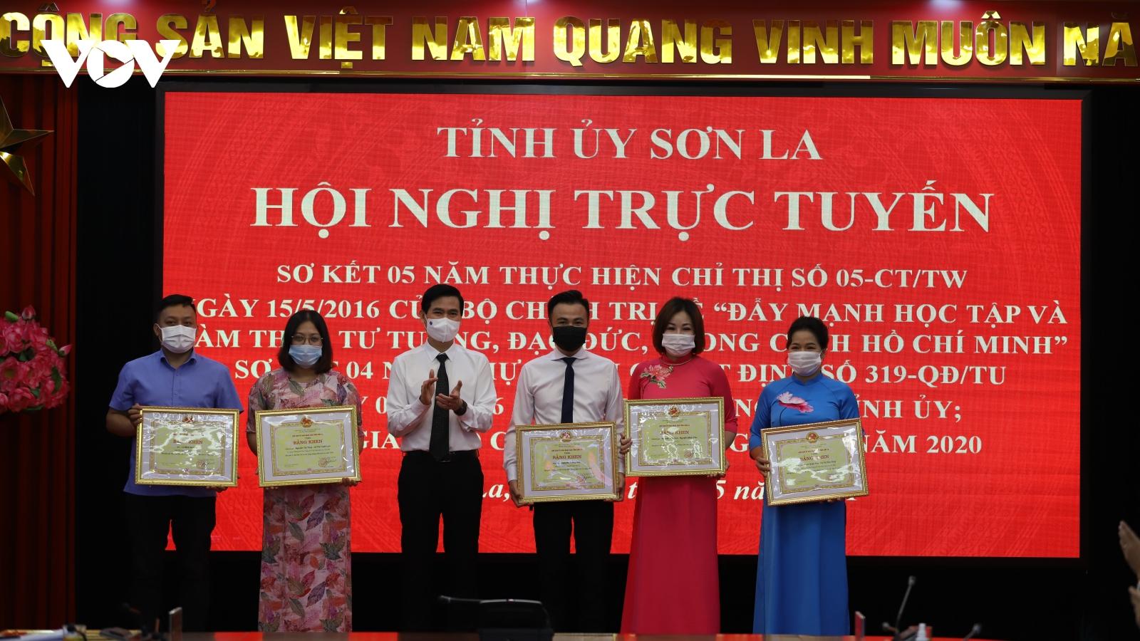 Sơn La tuyên dương nhiều tập thể, cá nhân thực hiện tốt Chỉ thị 05 của Bộ Chính trị