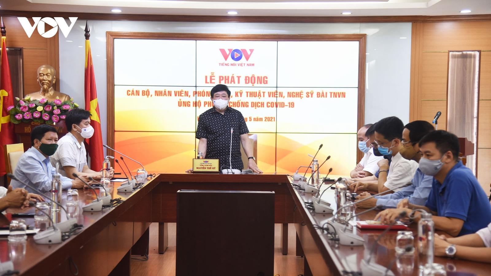 Cán bộ, nhân viên VOV chung tay ủng hộ phòng, chống dịch Covid-19