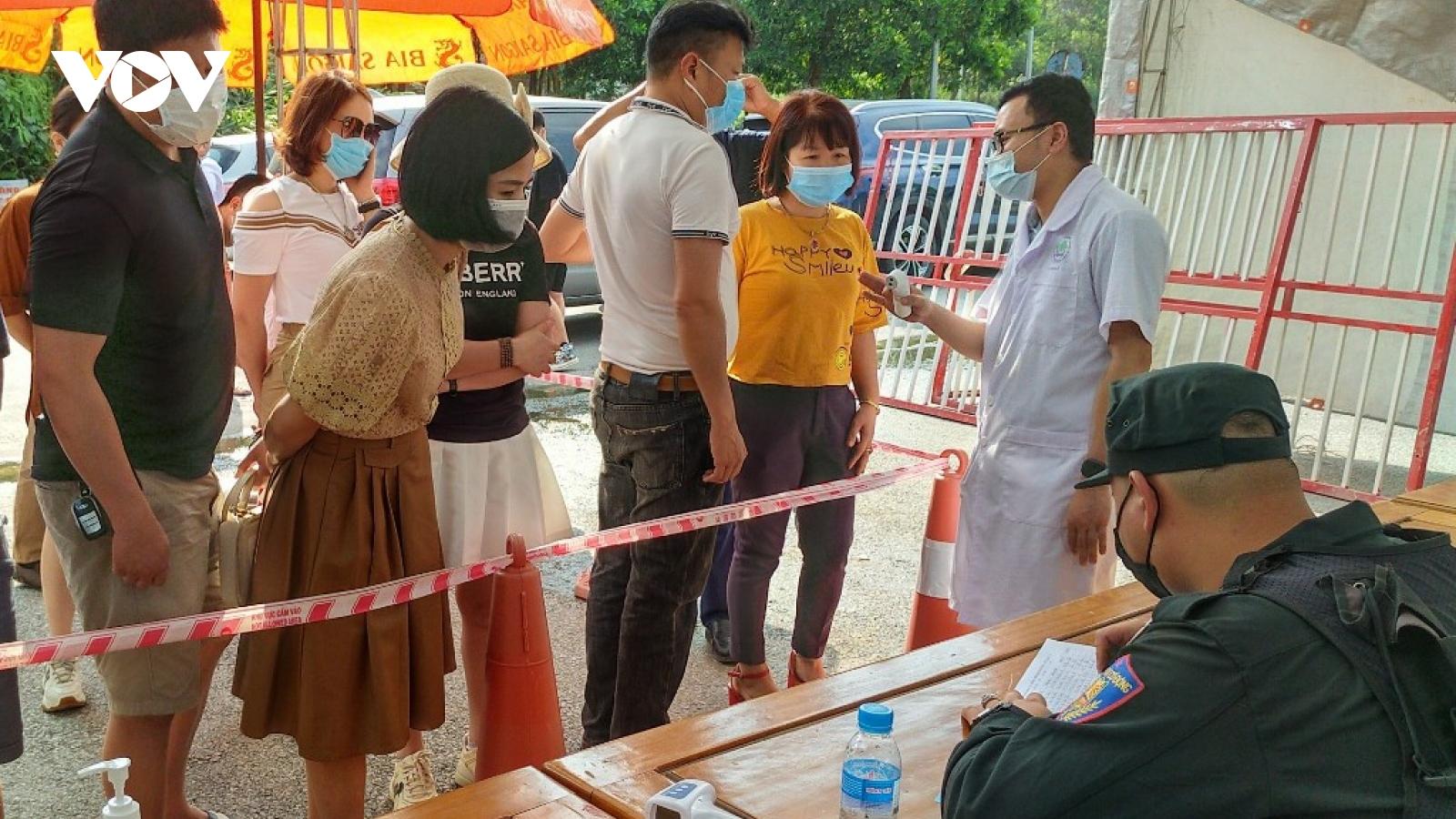 Yên Bái phong tỏa các khu vực liên quan đến chuyên gia Trung Quốc mắc Covid-19