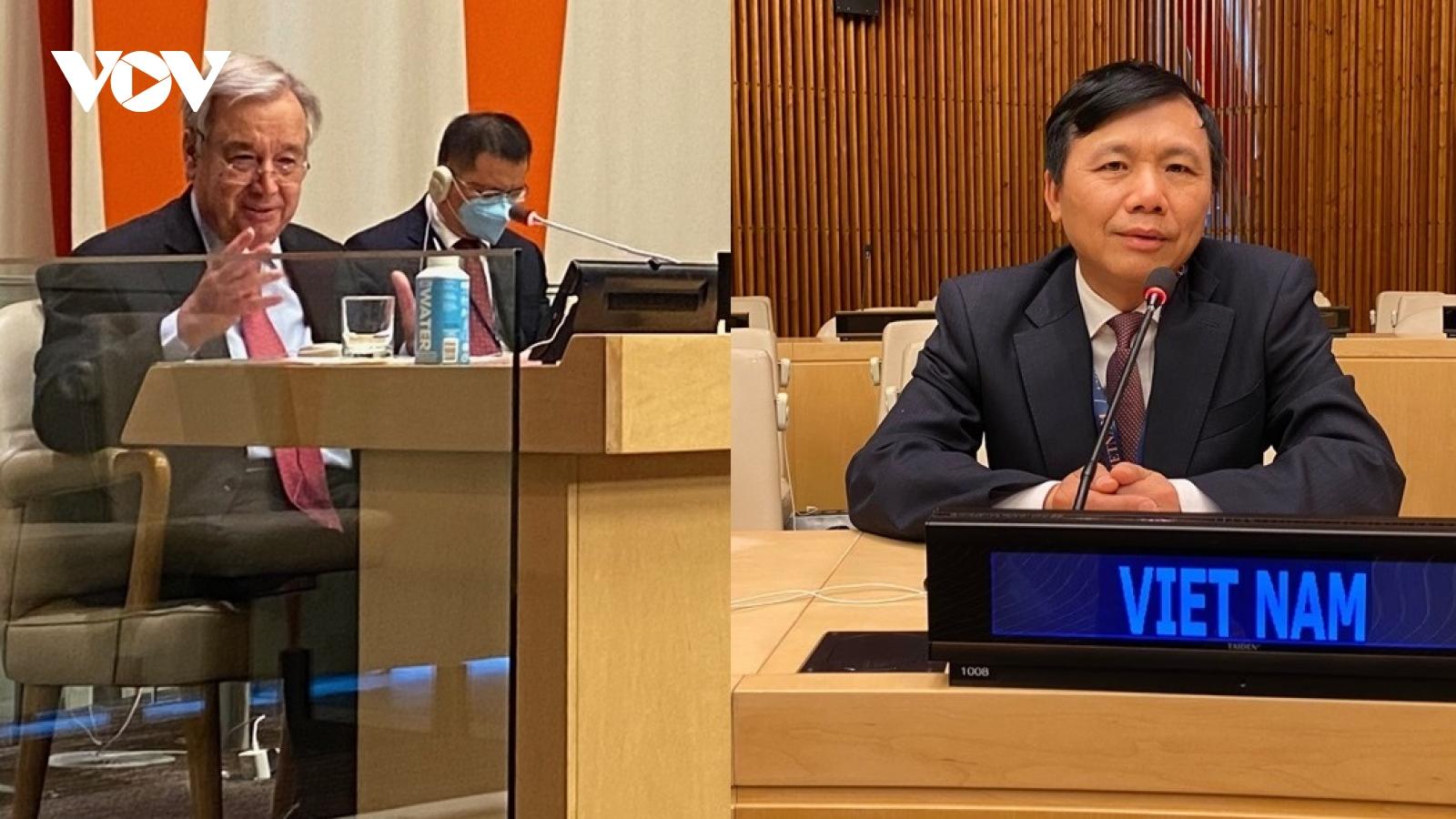 Hội đồng Bảo an thảo luận về ứng cử viên Tổng Thư ký Liên Hợp Quốc nhiệm kỳ 2022-2026