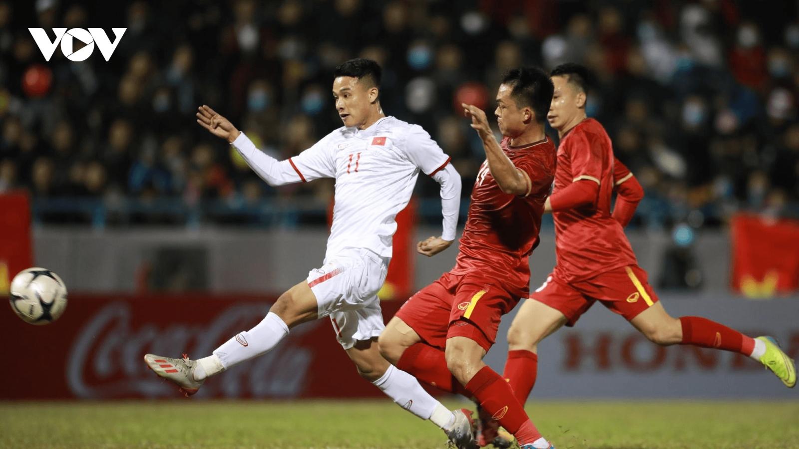 U23 Việt Nam đá vòng loại U23 châu Á 2022 tại Kyrgyzstan