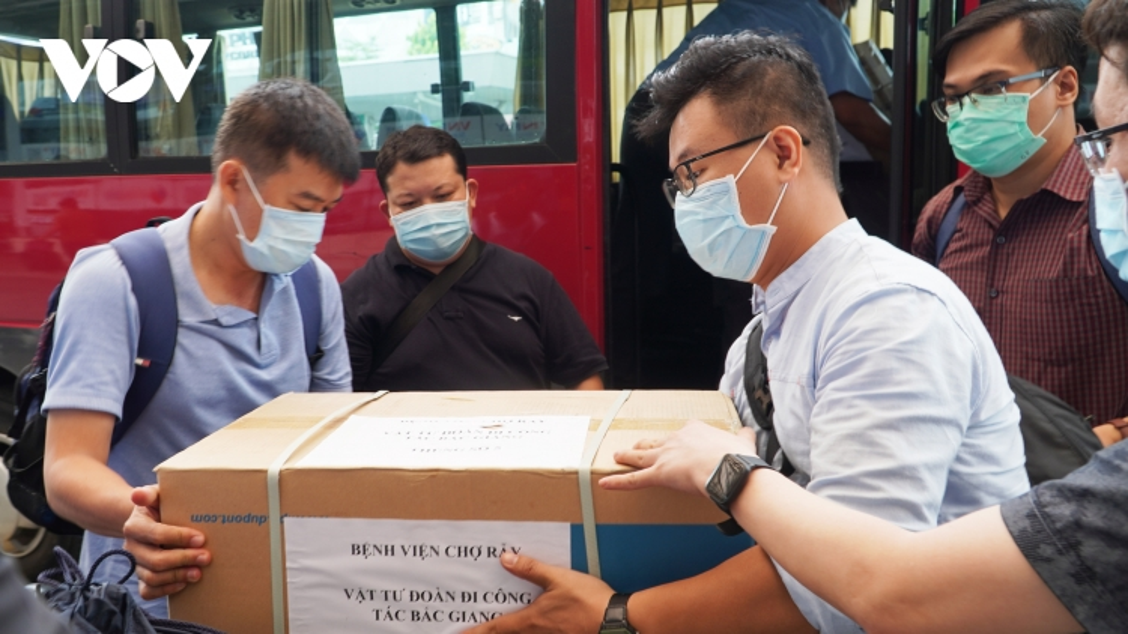"""Bệnh viện Chợ Rẫy cử """"đội tinh nhuệ"""" chi viện Bắc Giang chống dịch Covid-19"""