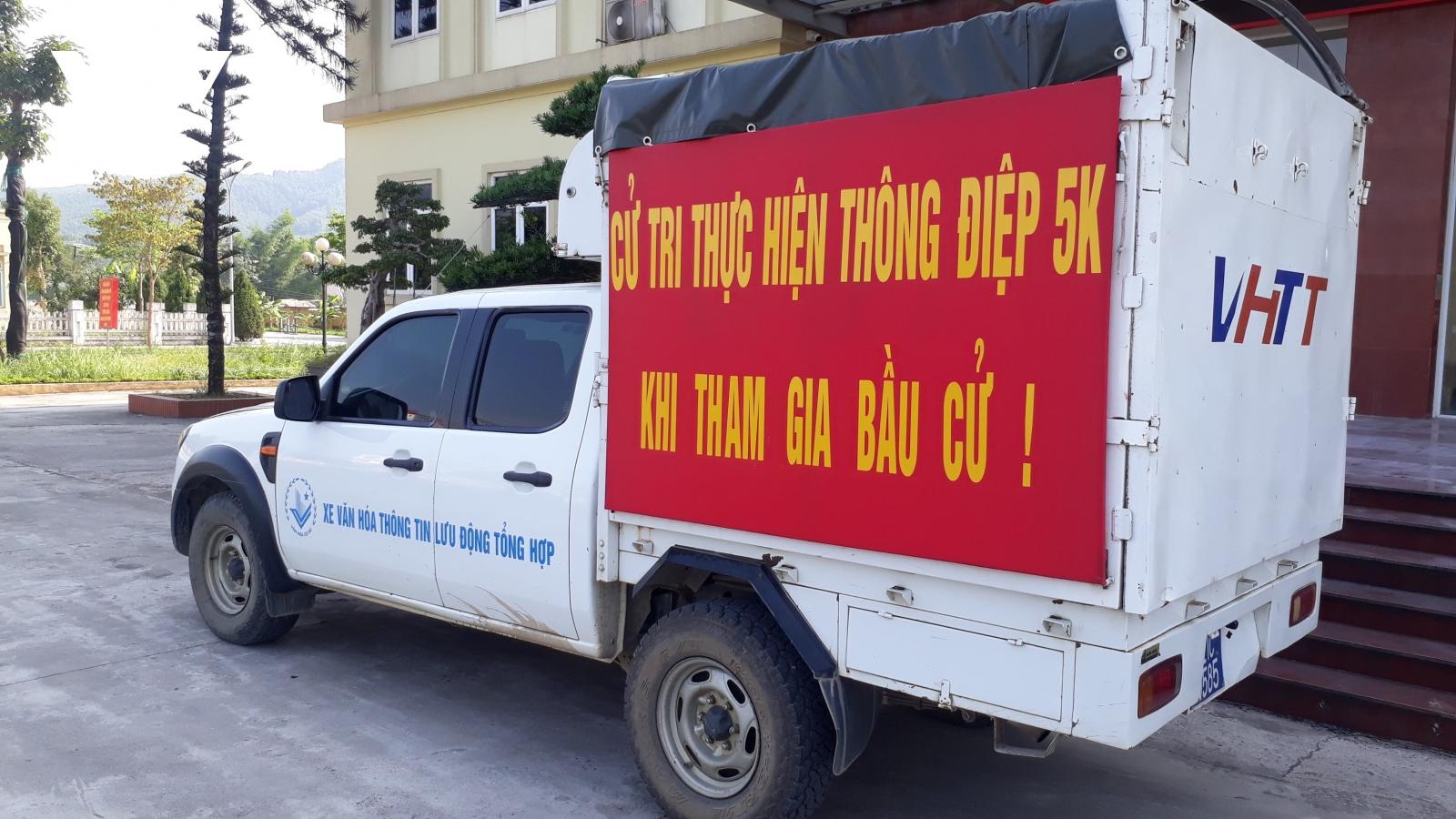 Huyện miền núi Văn Yên đồng bộ các giải pháp phòng, chống Covid-19 trước bầu cử