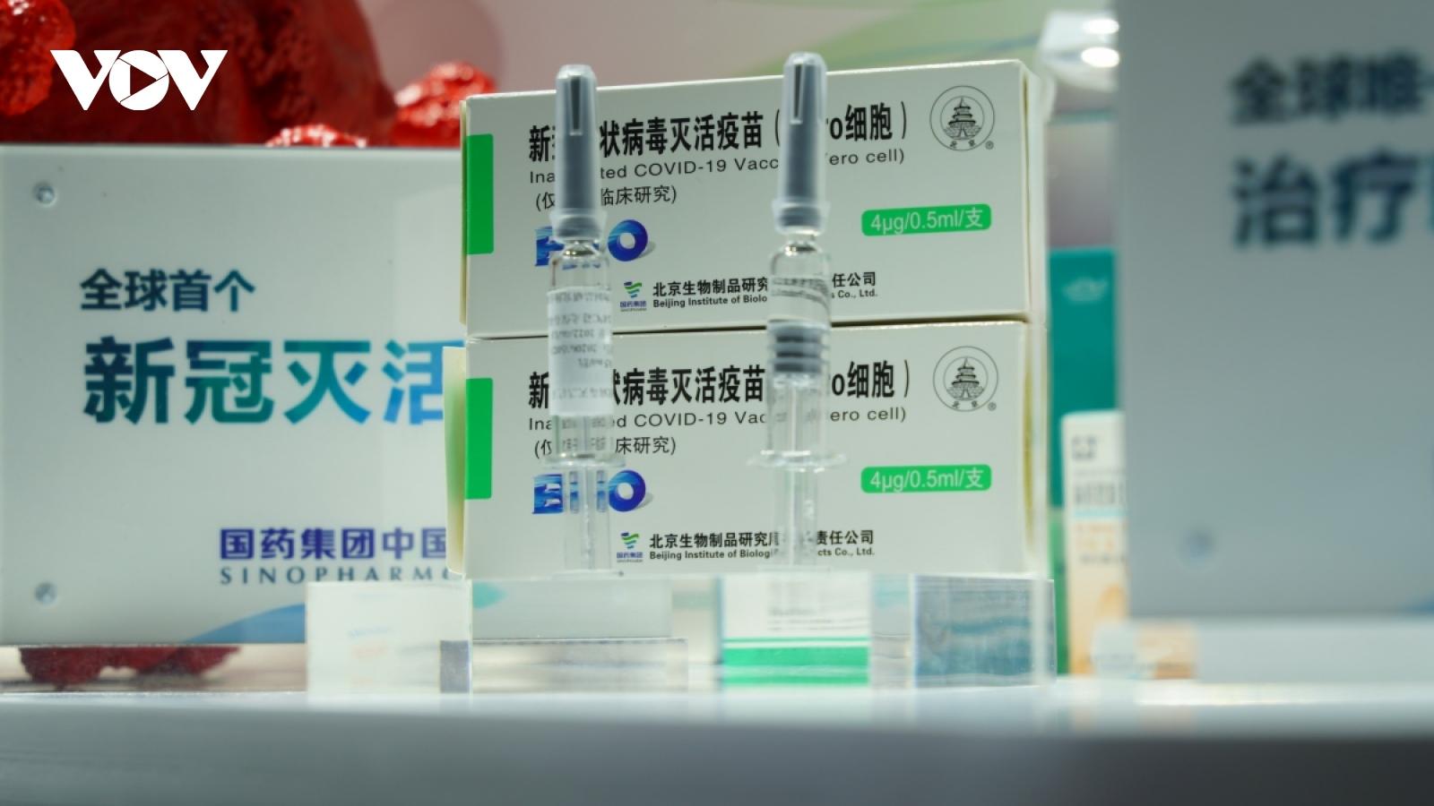 Sinopharm (Trung Quốc) nâng sản lượng vaccine Covid-19 lên 3 tỷ liều/năm
