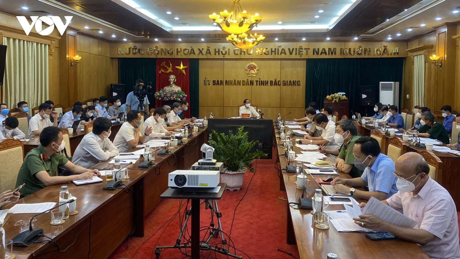 """Phó Thủ tướng Lê Văn Thành yêu cầu """"gỡ nút thắt"""" về kit xét nghiệm cho Bắc Giang"""