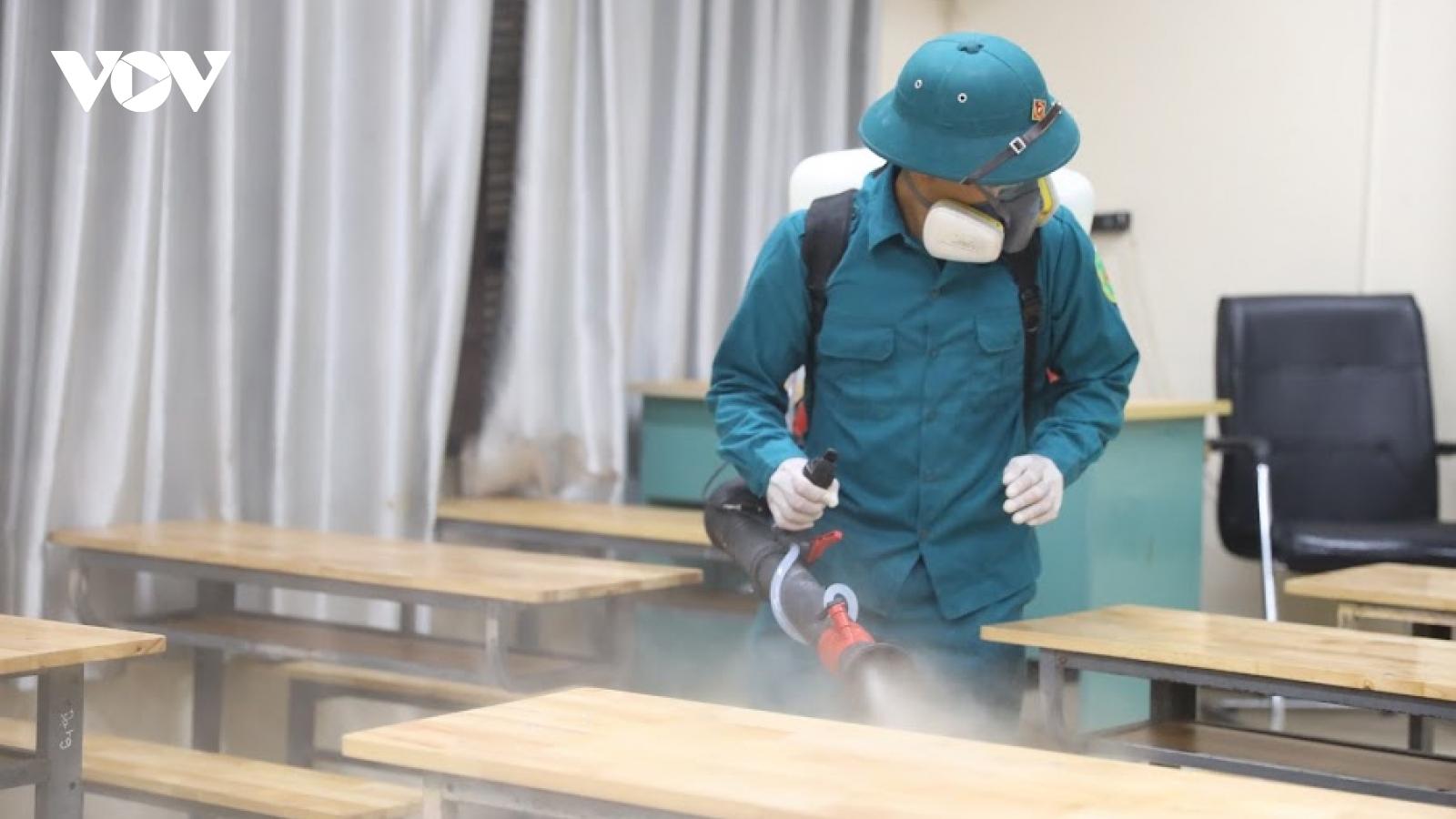 Hà Nam cho học sinh nghỉ học từ 3/5 để phòng chống dịch Covid-19