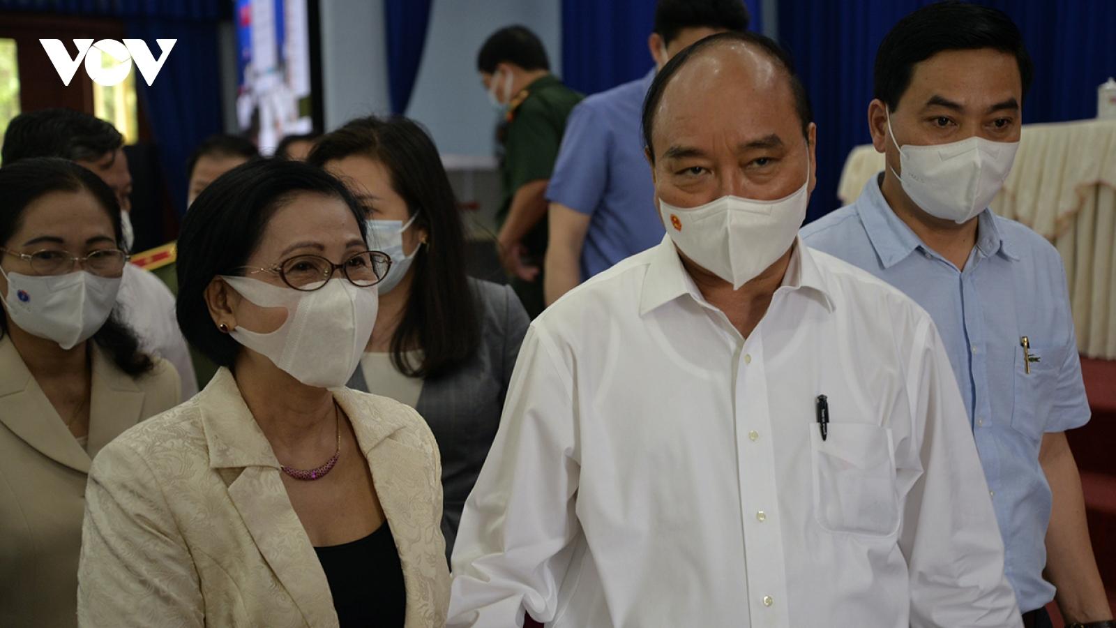 Chủ tịch nước Nguyễn Xuân Phúc sẽ bỏ phiếu bầu cử tại huyện Củ Chi